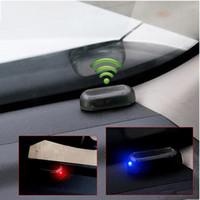 Auto LED Alarm Licht Nachahmung Gefälschte Solar Power Security System Warnleuchten Flash Diebstahlsicherung Universal Auto Innendekoration