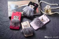 Fashion Luxury word owl fur Brand phone Case for IPhone X 8 ...