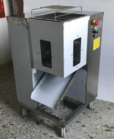 Avec expédition en acier inoxydable viande de viande commerciale machine 500kg / heure Comw avec 2 lames Trancheur de viande fraîche / machine de découpe de viande déchiquetée