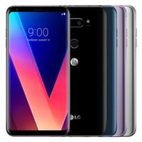 تم تجديده الأصل LG V30 + V30 زائد H930DS 6.0 بوصة المزدوج سيم الثماني الأساسية 4GB RAM 128GB ROM 16MP13MP 4G LTE مقفلة الهاتف الخليوي DHL محفظة 5pcs