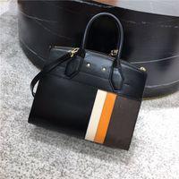 ! 5433new der stilvollen Frauen Schultertaschen, Handtaschen mit modernen Linien und klassischen Logos elements.size: 30 * 22 * 13cm