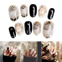 Nail Art Stickers DIY Decoration Decals Marble Pattern Fashi...