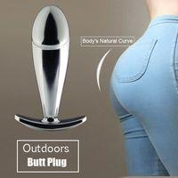 Metallo spina anale con Diamond Steel Jeweled Butt Plug per donne che indossano tutti i monili Y191030 Day Sex Toys Principiante medio Adult Sex Plug