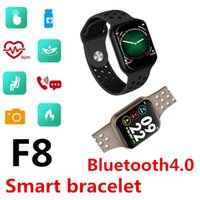 F8 Smart Bracelet Watch Impermeable Bluetooth Frecuencia cardíaca Presión arterial SleepFitness Tracker Watch band Wearable Outdoor Fashion Sport DZ09