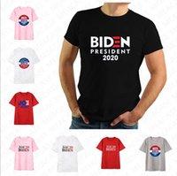 Frauen Männer Joe Biden 2020 Die US-Wahl beschriften das gedruckte T-Shirt Unisex Sommer Top Tees Erwachsene Sport Short Sleeve T-Shirt XS-4XL D7209
