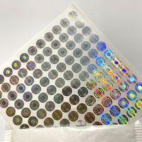 Yeni Çerezler için 3D Hologram Etiketler Etiket SF 8th Kaliforniya Çanta 420 Ambalaj Mylar Çanta 3D Hologram Sticker