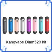 Kangvape Diam520 Pod Kit Original Liga de Zinco 300 mah Caneta Vape 0.7 ml Capacidade Cartuchos para Óleo Grosso vs th420 kit