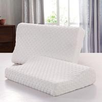 Ортопедическая подушка для сна шеи шейки матки подушка тела подушка массаж беременность пены памяти женщины мужчины