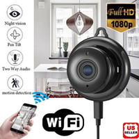 2020 Novo Infravermelho Wireless WIFI IP Câmera HD 1080P Smart Home Security Camera Night Vision Security Home Night Vision Camera
