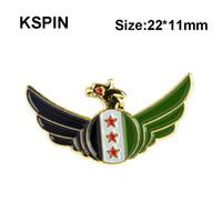 Сирия Eagle Lapal Pin на рюкзак булавки для одежды XY0251