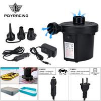 PQY نفخ مضخة الهواء الكهربائية فراش التخييم مضخة المحمولة سريعة ملء لسيارة المنزل استخدام PQY-EAP01 / 02/03