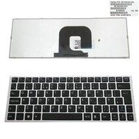 Novo teclado para teclado Sony VPC-YA VPC-YB YB YA uk Teclado de prata moldura preta de substituição para Laptop