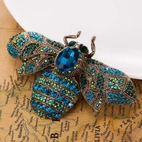 Zlxgirl Big Size Beate Brooches Vintage Broccia Donne Party Anniversary Gioielli Strass Pin Spilla Hijab Accessori