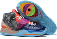 streetwear Top 2020 sapatos Kyrie 6 Basquete Pré-aqueça Coleção Iluminismo Xangai Heal the Training Sports World Blackout Nova York