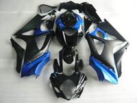 Kit corps de carénage bleu noir pour SUZUKI GSXR1000 07 08 GSX-R1000 Carrosserie GSX R1000 K7 2007 2008 Set carénage + cadeaux