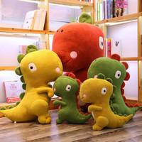 공룡 베개 쿠션 만화 봉제 장난감 kawaii 박제 동물 인형 어린이 장난감 크리스마스 선물 30cm / 45cm / 60cm / 70cm / 90cm / 110cm C2129