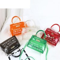 good quality Clear Transparent Pvc Shoulder Bags Women Candy...