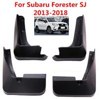 سيارة Mudflaps سبلاش الحرس الطين رفرف واقيات الطين الحاجز لسوبارو فورستر SJ 2013-2018 لزينة السيارات التصميم