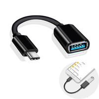 Tipo C USB 3.1 Maschio a OTG Type-A Adattatore femmina per Letv Huawei Samsung Smartphone