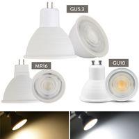 luz LED Spot E27 E14 GU10 GU5.3 7W MR16 lâmpada LED lâmpadas LED 24 Ângulo de feixe Spotlight para Downlight Table Lamp