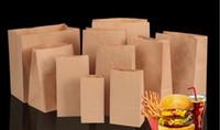 Kraft sacchetto di cibo sacchetto di carta di imballaggio di carta posto su misura personalizzato confezionamento all'ingrosso borsa