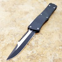 Combat TroodOTFn Apocalyptic black 440 blade T6061 handle fo...