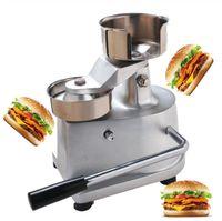 100mm 130mm Manuel Makers Hamburger Patty Commercial Press Meat Pie machine main-Control