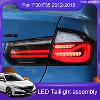 سيارة التصميم قاد الذيل ضوء لسيارات BMW F35 F30 318I 320I 318Li 3 سلسلة الجمعية الضوء الخلفي 2012-2018 الفرامل الخلفية + عكسي + مصباح إشارة