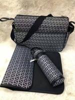 Детские пеленки сумка с интерфейсом USB большой емкости водонепроницаемый подгузник сумка наборы Мумия материнства кормящих сумочка для бесплатной доставки