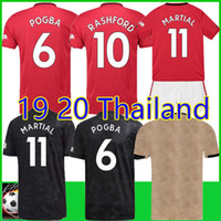 Thailand POGBA LINGARD 19 20 manchester Soccer Jerseys unite...