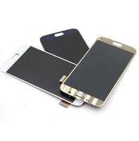 100% Origina Için Hiçbir Ölü Piksel5.7 '' Ekran Samsung Galaxy S6 Kenar Artı G928 G928F LCD Dokunmatik Ekran Digitizer Meclisi Replacem