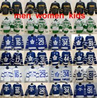Toronto Maple Leafs Auston Matthews Jersey John Tavares Hockey Mitchell Marner William Nylander Frederik Andersen Morgan Rielly Marleau Azul