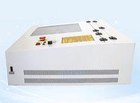 50W CO2 Laser Graviermaschine 400 * 400mm 440 mit quadratischer innerer Führungsschiene für Handwerk oder Geschenk DIY