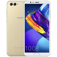 "Orijinal Huawei Honor V10 4G LTE Cep Telefonu 6GB RAM 64GB 128GB ROM Kirin 970 Octa Çekirdek Android 5,99"" 20 MP NFC Parmak İzi Kimlik Cep Telefonu"
