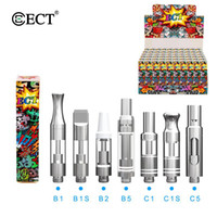 100% Original ECT kenjoy B1 C1 glass vape mod cartridge cera...