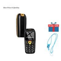 """작은 크기의 푸시 버튼 이동 전화 미니 자동차 키 손 전화 1.0 """"매직 음성 MP3 블루투스 걸기 저렴한 어린이 만화 핸드폰을"""