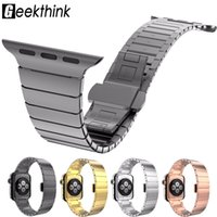 316L Stainless Steel Link Bracelet Replacement Band for Appl...