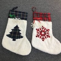Christmas Stocking Haning Socks Santa Claus Bag Beer Paw Sno...