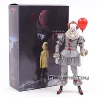 NECA Stephen King Joker Clown Il Pennywise BJD Joint Move action Figure Jouets Poupées pour Halloween cadeau
