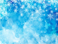 Bożenarodzeniowy płatki śniegu i gwiazdy winylowe fotografia backdrops błękitne akwarela stoisko tła dla zimowych rekwizytów studio