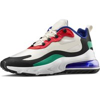 40 цветов Реагировать мужчин кроссовки женские кроссовки мужские Дизайнерская обувь Кроссовки для бега трусцой Открытый спорт Тройной Черный Белый Kanye обувь