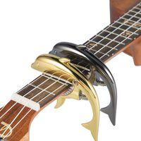 Professionele Ukulele Capo 4 Strings Hawaii Gitaar Capos Single-Handed Snelle verandering Ukelele Capo Guitar Parts Accessoires