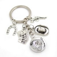 Neue Ankunft 18mm Snap Schmuck Casino Poker Schlüsselanhänger Handtasche Charme 18mm Snap Button Tastenketten Schlüssel Ringe Geschenke