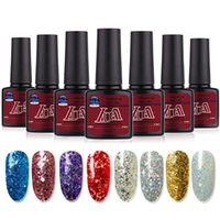 Paillettes Sexy Nail Manucure Gel semi permanent Vernis Gel UV Top Coat Vernis Soak Off Nail Art Gel Vernis à ongles