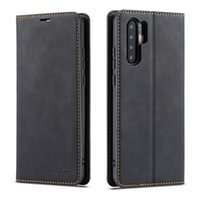 Для Huawei P20 P30 Pro Mate 20 pro lite Nova 3e 4e P smart 2019 Флип сплошной цвет Чехол Простой кожаный PU слот для карт памяти Слот для телефона Крышка