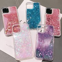Luxury Glitter Liquid Quicksand Phone Cases TPU defender bac...