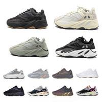 Mıknatıs 700 V2 Programı Siyah Kanye West Erkek Kadın Koşu Ayakkabı Geode Statik Leylak OG OG Koşucu Dalga Katı Gri Atalet Vanta Spor Sneakers