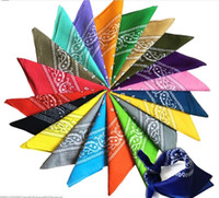 Paisley Diseño elegante paseo mágico magia Anti-UV Bandana diadema bufanda Hip Hop Head Bandana multifuncional al aire libre bufanda GD282