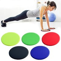 1 Pair Yoga Exercise Sliding Discs Slider with Resistance Ri...