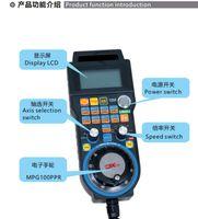 Máquina de grabado control remoto volante Mach3 MPG USB Wired volante 3 eje 6 axisfor CNC de la máquina de fresado controlador